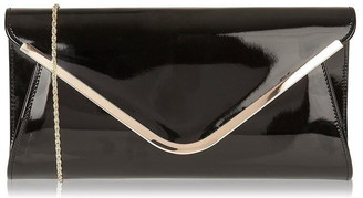 Lotus Shoes Sommerton Patent Clutch Bag