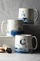 Anthropologie Buoyant Letters Mug