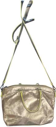 Liebeskind Berlin Gold Leather Handbags