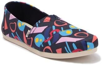 Toms Abstract Geometric Alpargata Slip-On Sneaker