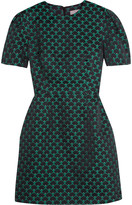 Mary Katrantzou Azurite jacquard mini dress