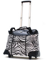 Olympia Animal Print Rolling Tote