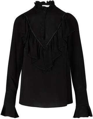 See by Chloe Silk blend blouse