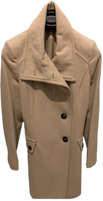 Benetton Beige Wool Coats