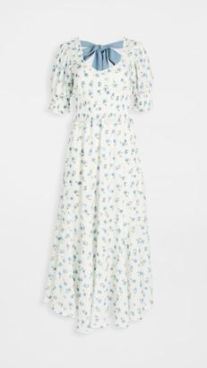 Sister Jane Perennial Floral Maxi Dress