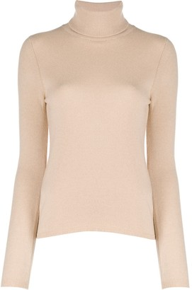 Allude Roll Neck Jumper