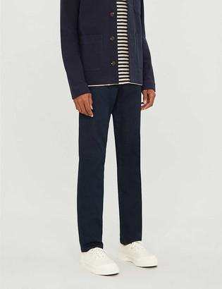 Frame Lhomme Slim straight-leg stretch-denim jeans