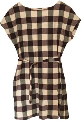 A.P.C. Burgundy Cotton Dresses
