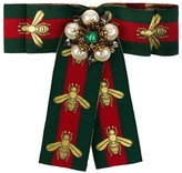 Gucci Web bow brooch