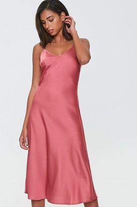 Forever 21 Satin Slip Dress