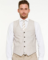 Le Château Linen Contemporary Fit Vest