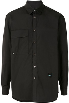 ZZERO BY SONGZIO Panther flap pocket shirt