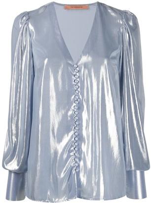 Andamane Cecilia metallic blouse