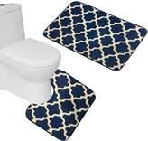 Amagical Bath Mats Set 2 Pieces non slip Bath Rugs Bedroom Room Carpet Mat Washable