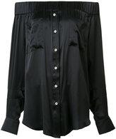 Natasha Zinko off-shoulder blouse - women - Silk - 32