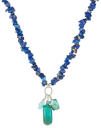 Lord & Taylor Turquoise Pendant Necklace