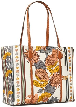 Tory Burch Perry Printed Triple-Compartment Tote Bag