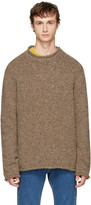 Maison Margiela Beige Donegal Sweater