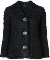 Simone Rocha floral motif buttons jacket