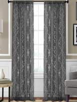 Elrene Home Fashions Montego Sheer Window Panel