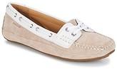 Sebago BALA women's Boat Shoes in Beige