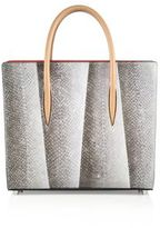Christian Louboutin Paloma Medium Spiked Salmon Tote