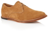 Frank Wright Butterscotch Suede 'busby' Derby Shoes