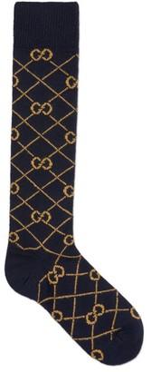 Gucci GG Wool Knee-Length Socks
