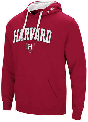 Colosseum Men Harvard Crimson Arch Logo Hoodie