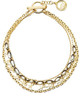 Giles & Brother Thorn Charm Navette Necklace
