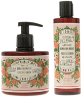 Absolutes Rose Geranium Hand and Body Lotion & Shower Gel