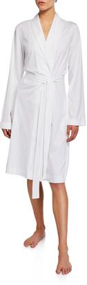 Hanro Cotton Jersey Short Robe