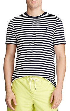 Polo Ralph Lauren Cotton Stripe Custom Slim Fit Tee