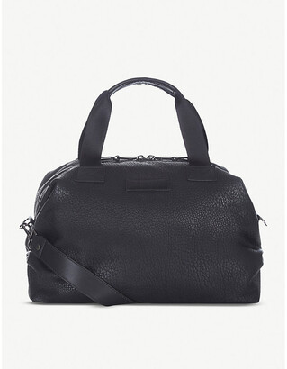 Selfridges Tiba & Marl RAF mini faux-leather holdall