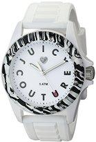 Juicy Couture Women's 1901159 Juicy Sport Analog Display Quartz White Watch