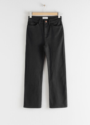 And other stories Straight Fit Stretch Jeans