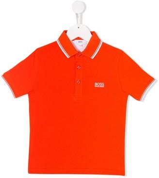 Boss Kids Logo Polo Shirt