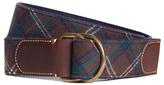 Brooks Brothers Pendleton® Plaid D-Ring Belt