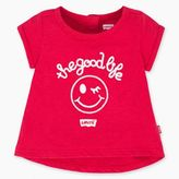 Levi's Newborn Girls The Good Life Graphic Tee (3-9 M)
