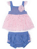 Little Lass 2-pc. Layette Set-Baby Girls