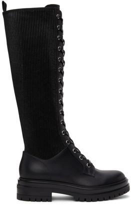 Gianvito Rossi Black Martis 20 Tall Boots