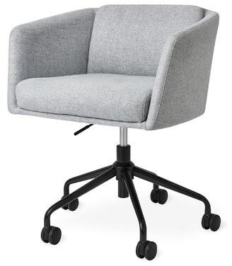 Gus* Modern Radius Powder Coat Task Chair Gus* Modern Upholstery Color: Light Gray