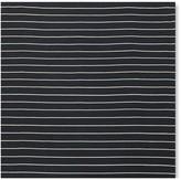 Williams-Sonoma Williams Sonoma Mini Stripe Flatweave Rug, Black