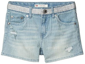 Levi's(r) Kids Denim Shorty Shorts (Big Kid) (Waltz) Girl's Clothing