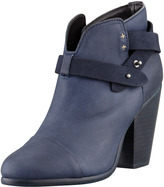 Rag and Bone Rag & Bone Harrow Leather Ankle Boot, Navy