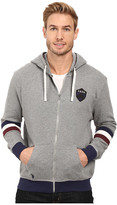U.S. Polo Assn. French Terry Crest Logo Hooded Jacket