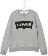 Levi's Kids - logo print sweatshirt - kids - Cotton - 14 yrs