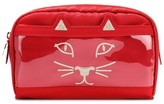 Charlotte Olympia Purrrfect make-up bag