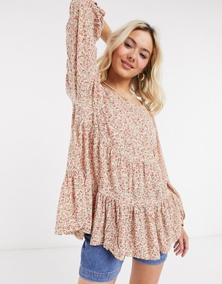 American Eagle spring tunic in floral