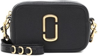 Marc Jacobs Softshot 17 leather crossbody bag